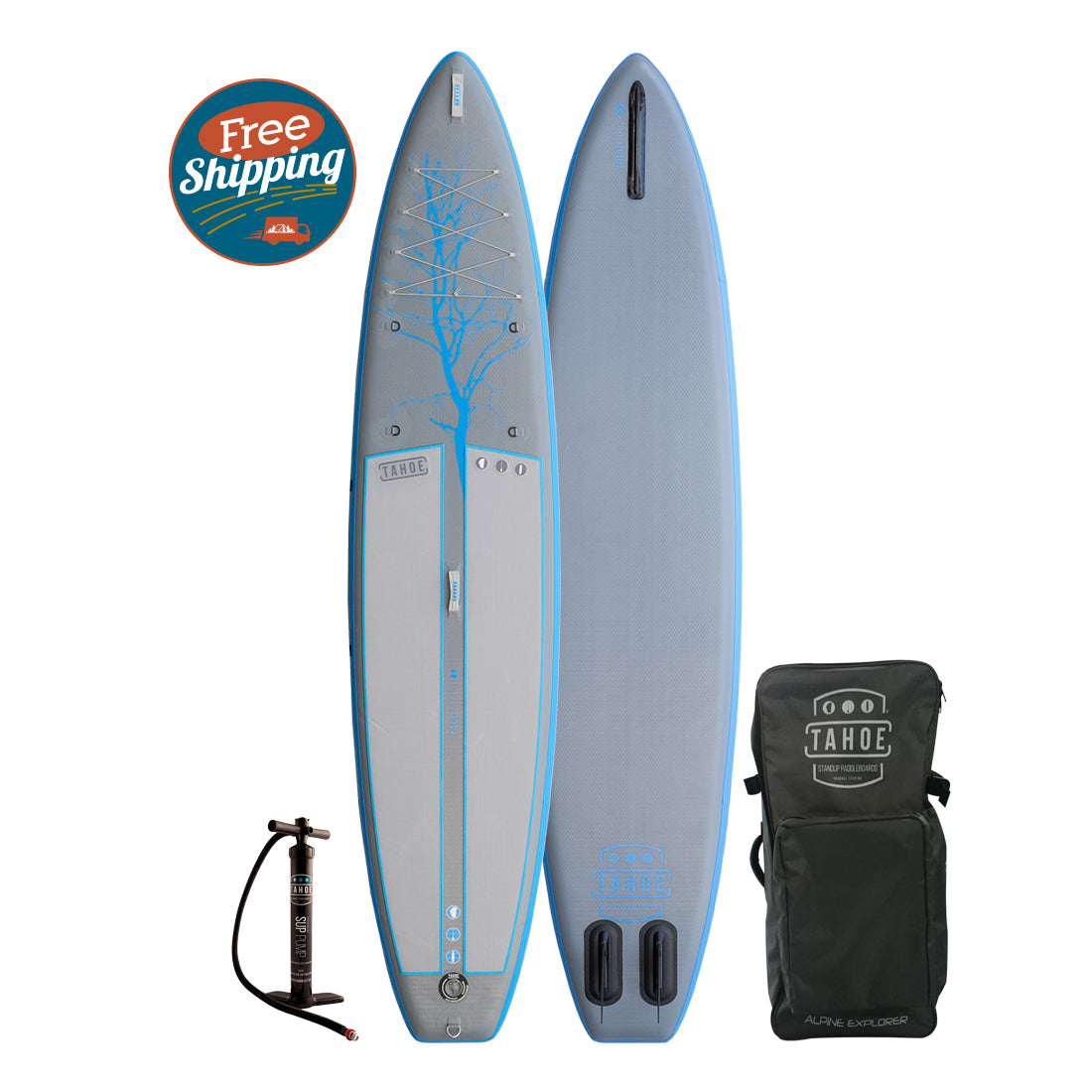 Tahoe SUP Alpine Explorer 12' Inflatable Standup Paddle Board Paddle Boards 4theoutdoors Canada SUP outdoors