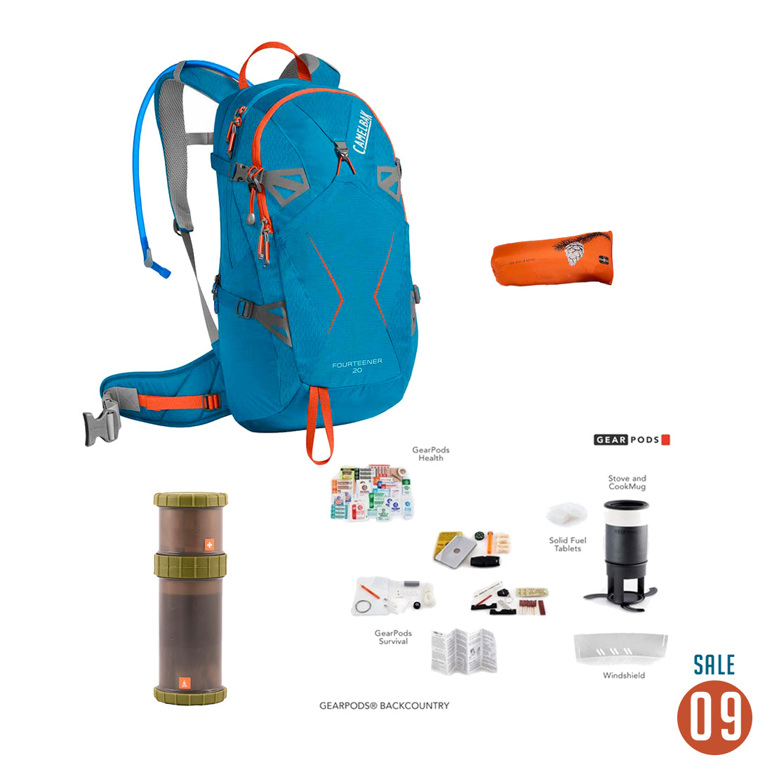 09 Sale - Camelbak Fourteener 20 Backcountry Package Accessories 4theoutdoors Canada SUP outdoors