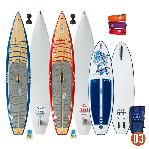 03 Sale - Tahoe SUP Family Package Paddle Boards 4theoutdoors Canada SUP outdoors