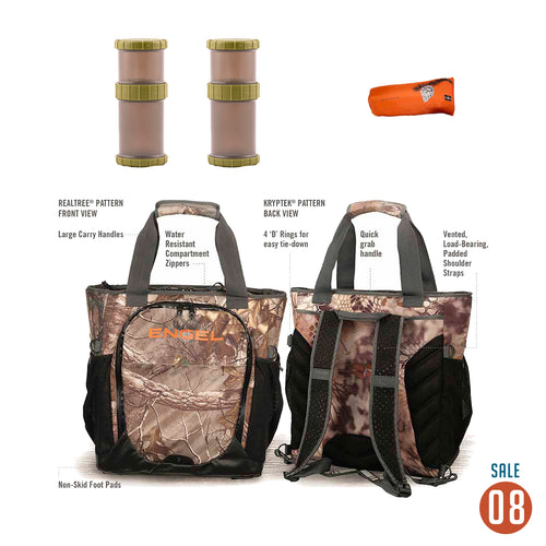 08 Sale - Engel Backpack Cooler Outdoors Package Accessories 4theoutdoors Canada SUP outdoors