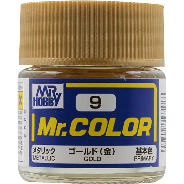 Mr. Color 9 - Gold (Metallic/Primary) C9