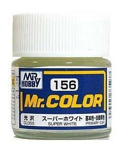 Mr Color 156 - Super White IV (Gloss/Primary Car) C156
