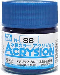 Acrysion N88 - Metallic Blue (Metallic/Primary)