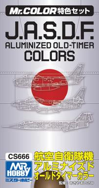 Mr. Color - JASDF Aluminized Old-Timer Color Set CS666
