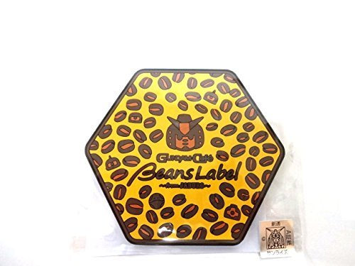 Gundam Cafe Beans Label Coaster