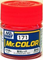 Mr. Color 171 - Fluorescent Red (Gloss/Primary) C171