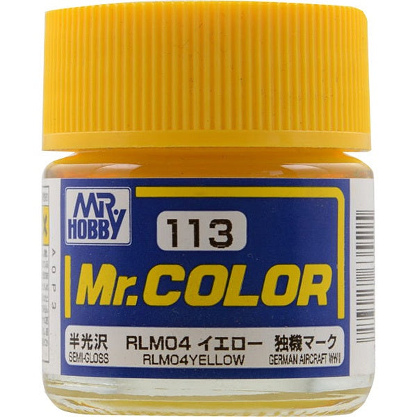 Mr. Color 113 - RLM04 Yellow (Semi-Gloss/Aircraft) C113