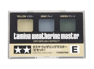 Weathering Master E Set (Yellow, Gray, Green)