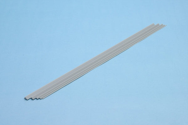 Plastic Materials (Gray) Triangle Stick 1.0mm 8pcs