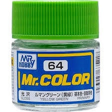 Mr Color 64 - Yellow Green (Gloss/Primary Car) C64