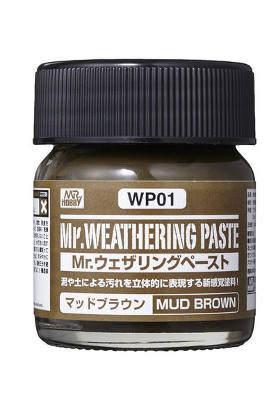 Mr. Weathering Paste Mud Brown WP01