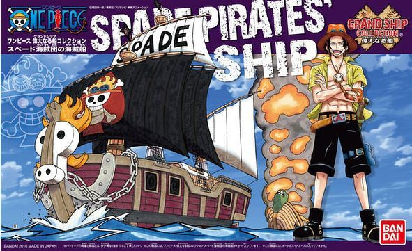 OP - Grand Ship Collection - Spade Pirates Ship