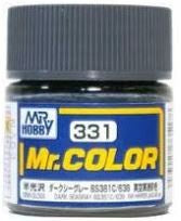 Mr. Color 331 - Dark Seagray BS381C 638 (Semi-Gloss/Aircraft) C331