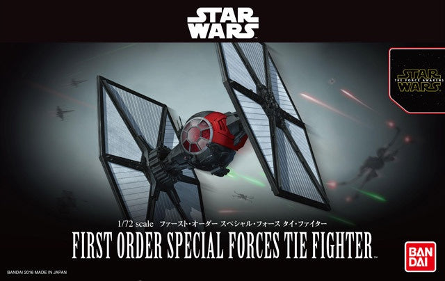 SW - 1/72 First Order Special Forces TIE Fighter