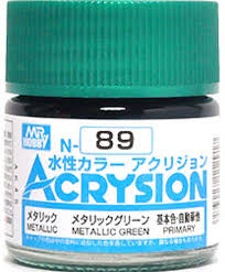 Acrysion N89 - Metallic Green (Metallic/Primary)