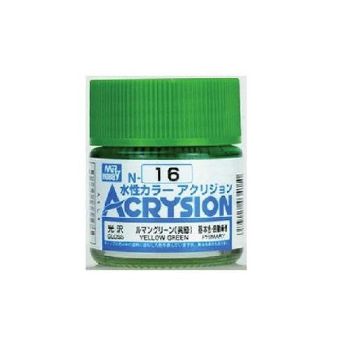 Acrysion N16 - Yellow Green (Gloss/Primary)