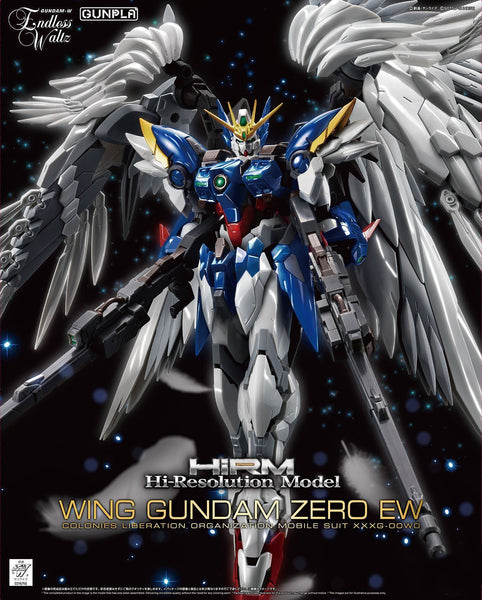 High-resolution Model 1/100 Wing Gundam Zero EW