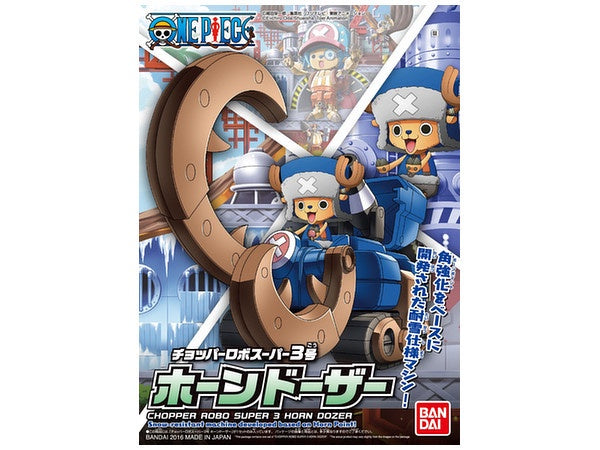 OP - Chopper Robo Super 3 Horn Dozer