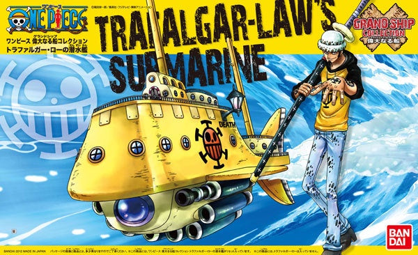 OP - Grand Ship Collection #002- Trafalgar Law's Submarine