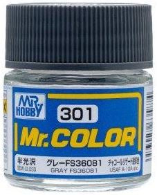 Mr. Color 301 Gray FS36081 (Semi-Gloss/Aircraft) C301