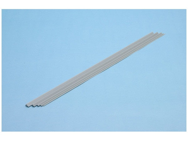 Plastic Materials (Gray) Triangle Stick 4.0mm 4pcs