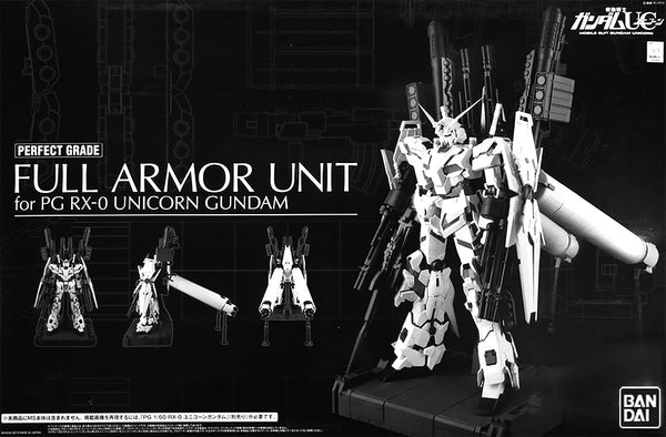 PG Full Armor Unit for PG RX-0 Unicorn Gundam