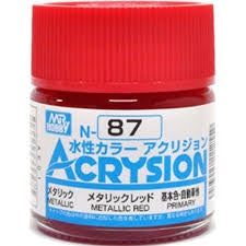 Acrysion N87 - Metallic Red (Metallic/Primary)