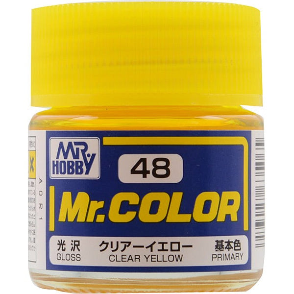 Mr. Color 48 - Clear Yellow (Gloss/Primary) C48