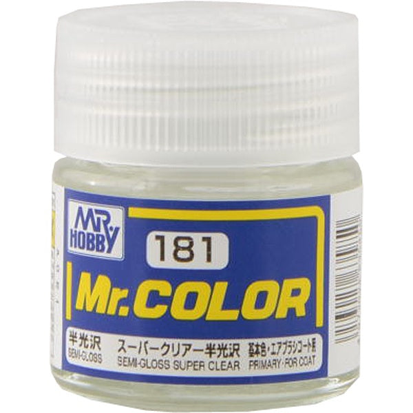 Mr. Color 181 - Semi-Gloss Super Clear (Semi-Gloss/Primary) C181