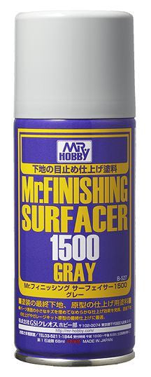 Mr Finishing Surfacer 1500 Gray Can B527
