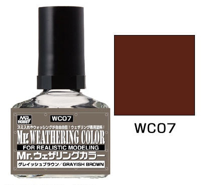 Mr. Weathering Color WC07 - Grayish Brown