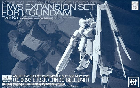 MG HWS Expansion Set for Nu Gundam Ver. Ka