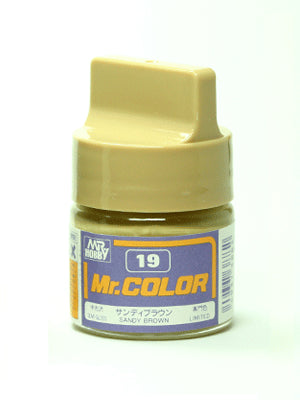 Mr. Color 19 - Sandy Brown (Semi-Gloss/Aircraft) C19