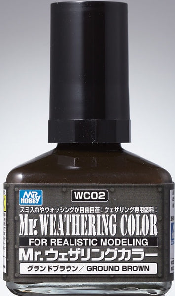 Mr. Weathering Color WC02 - Ground Brown