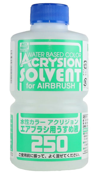 Acrysion Solvent Thinner for Airbrush 250ml T314