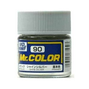 Mr. Color 90 - Shine Silver (Metallic/Primary) C90