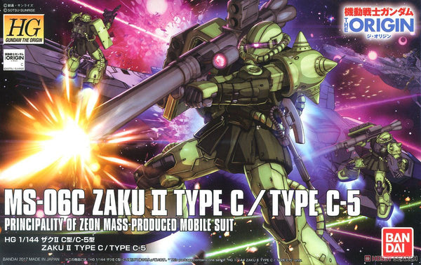 The Origin - HG 1/144 Zaku II Type C/Type C-5