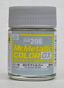 Mr Color GX208 Metal Rough Silver