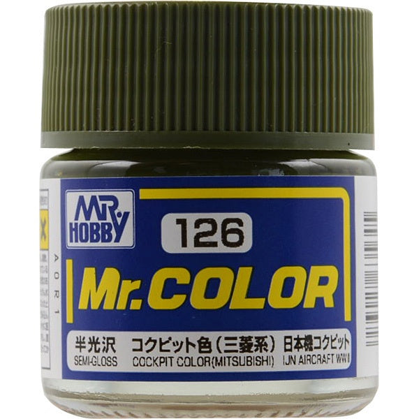 Mr. Color 126 - Cockpit Color (Semi-Gloss/Aircraft) C126