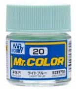 Mr. Color 20 - Light Blue (Semi-Gloss/Aircraft) C20