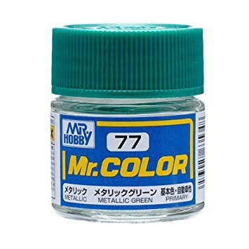 Mr. Color 77 - Metallic Green (Metallic/Primary Car) C77