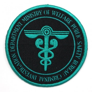 Psycho Pass Removable Felt Patch