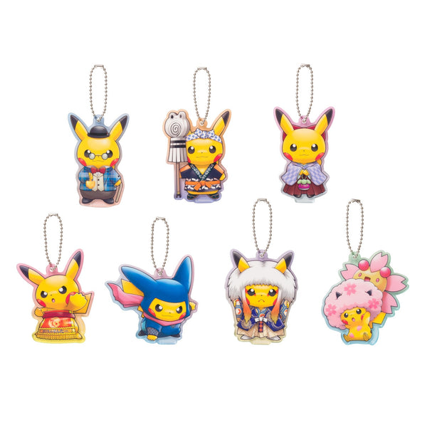 Pokemon Center Acrylic Charm Series 7