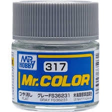 Mr. Color 317 - Gray FS36231 (Semi-Gloss/Aircraft) C317