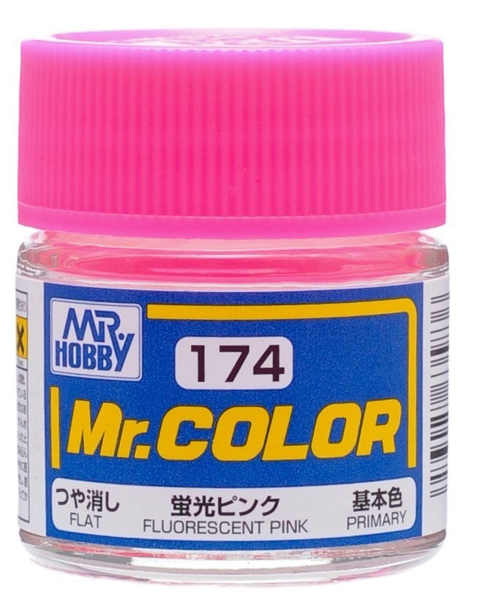 Mr. Color 174 - Fluorescent Pink (Gloss/Primary) C174