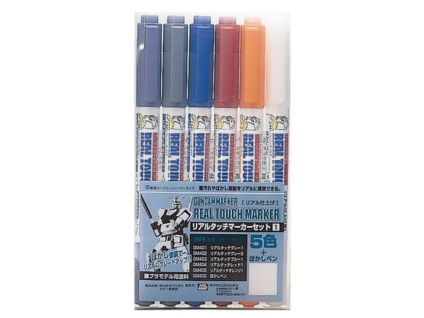 Gundam Marker Set - Real Touch Marker 1 GMS112