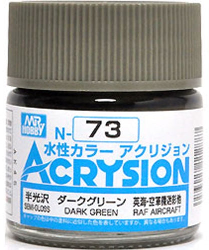 Acrysion N73 - Dark Green (Semi-Gloss/Aircraft)