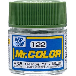 Mr Color 122 - RLM82 Light Green (Semi-Gloss/Aircraft) C122