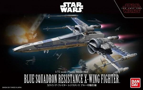 SW - 1/72 Blue Squadron Resistance X-Wing Fighter