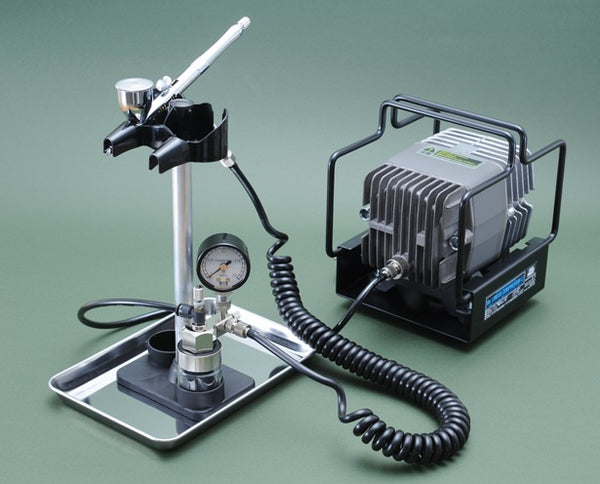 Mr. Linear Compressor L7 Set [PS268 Airbrush, PS253 Regulator] PS309